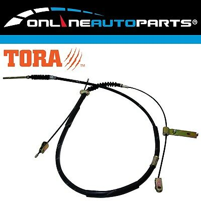 Rear Park Hand Brake Cable Assembly Toyota Hilux LN106 RN105 1988-1999 4wd Ute