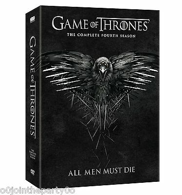 Game of Thrones: Season 4 DVD ( BRAND NEW -SEALED) PRE ORDER