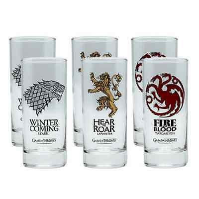 Verres Game of thrones Licence officielle
