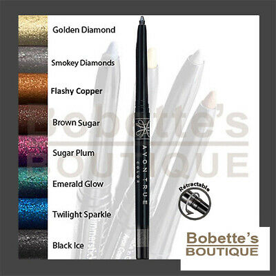 CRAYON EYE LINER Rétractable Contour Yeux AVON GLIMMERSTICK DIAMONDS Pailleté