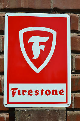 FIRESTONE TIRE SIGN LOGO HOT ROD GARAGE MUSCLE CAR NHRA