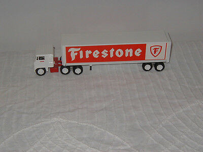 Winross Custom Firestone Tire Tractor Trailer