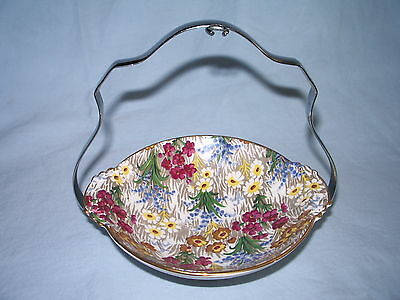 Royal Winton - Dish & Holder- Chintz - Marguerite