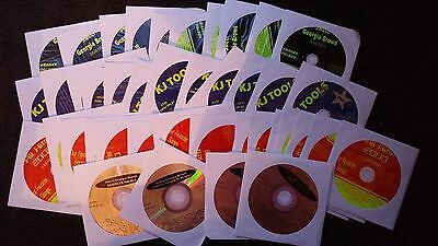 42 Cdg Discs Karaoke Set Cd+G 1950S-2000'S 600+ Songs Rock,Oldies,Pop,Country