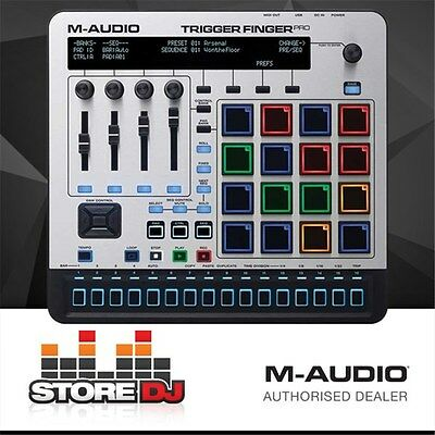 M-Audio Trigger Finger Pro Controller w/ Step Sequencer