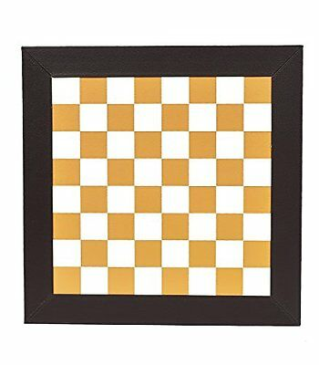 """NEW Leatherette Chess Board 1/3/4""""."""