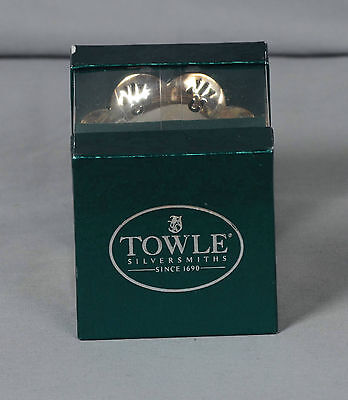 Towle Silversmiths Christmas 1996 Silverplated Bell