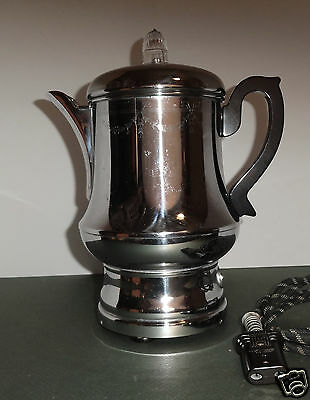 Vintage Farberware Coffee Robot 10 Cup Fully Automatic Percolator