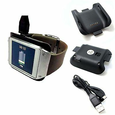 Charger Cradle Cable for Samsung Galaxy Gear SM-V700 Smart Watch Charging Dock