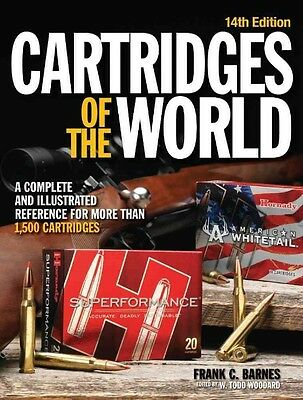 Cartridges of the World by Frank C. Barnes Paperback Book (English)