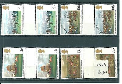 wbc. - GB - COMMEMS - 1979  HORSE RACING - GUTTER PAIRS  -UNM. MINT SETS