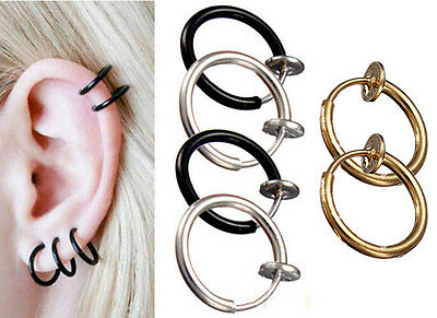 Wholesale Unisex Hipster Surgical Steel Horseshoe Bar - Lip Nose Septum Ear Ring