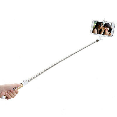 Extendable Handheld Bluetooth Selfie Stick Monopod With Remote Button For Phones