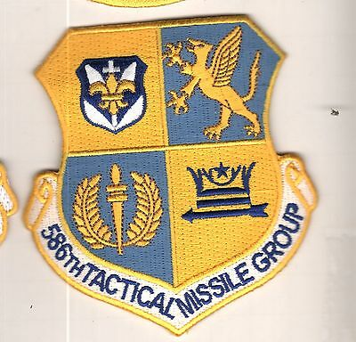 586th Tactical Missile Gp   USAF Patch