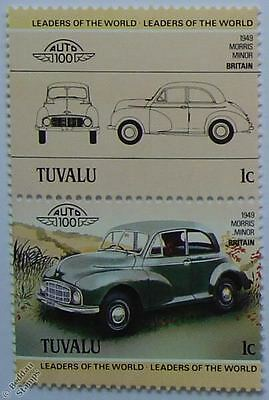 1949 MORRIS MINOR Car Stamps (Leaders of the World / Auto 100)