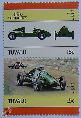 1953 COOPER 500 Car Stamps (Leaders of the World / Auto 100)