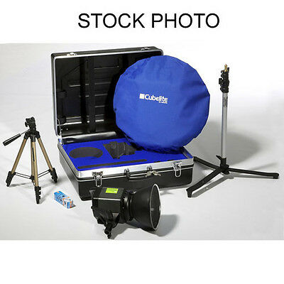 Lastolite Cubelite 2' travel light kit softbox photo tent LR3621L LR2486 300W