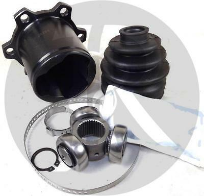 Vw Golf Mk5 3.2 R32 Dsg/auto Drive Shaft Inner Cv Joint & Cv Boot Kit 04>09