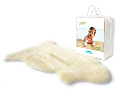 Bowron Babycare SHORN LAMBSKIN RUG FOR BABY COT Bedding/Sleeping Accessory BN