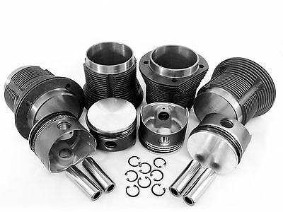 VW Bug 90.5mm Type 1 Piston and Cylinder Kit New 1776