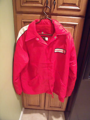 Vintage And Official Firestone, American Made Jacket, Large.