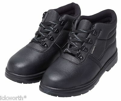 Chukka Safety Work Boots With Steel Toe Cap Size 6-12 Mens Ladies Womens Unisex
