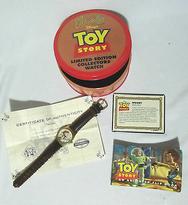Fossil Limited Edition Collectors Watch Woody Disney Toy Story 2830 Of 7500 Rare