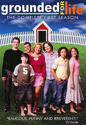Grounded for Life - Season 1 (DVD, 2011, 2-Disc Set) Used