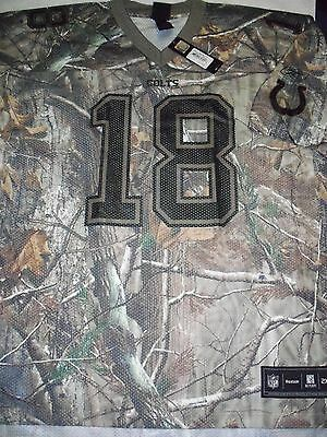 INDIANAPOLIS COLTS #18 PEYTON MANNING REALTREE CAMMO MENS JERSY NFL XX-LARGE
