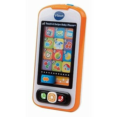 Vtech Toy Cell Smart Phone Kids Talk Toddler Learn Play Music Smartphone Swipe