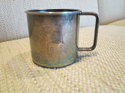 Vintage WM A. Rogers Campbell's SOUP Kids ( Baby) Silver Plated Child's Cup!!