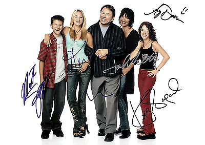 John Ritter 01 (8 Simple Rules) Cast Signed Photo Print 01A