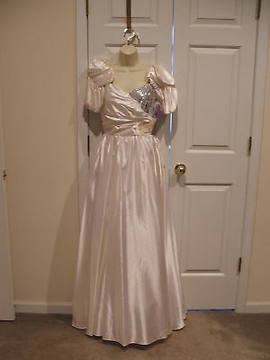 NWT Southern Belle vintage prom bridal Stage Princess ball gown  costume  m