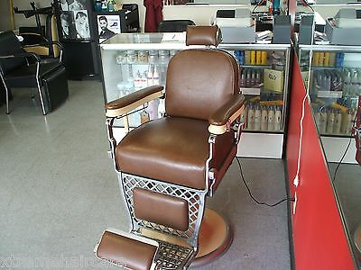 Vintage 50's Barber chair, Emil J. Paidar Great condition  !!!