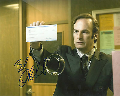 BOB ODENKIRK 'BREAKING BAD' SAUL GOODMAN SIGNED 8X10 PICTURE *COA 1