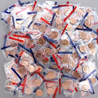 US Mint Tokens P & D Cent Sized One Pound in Cello 150+ Pieces