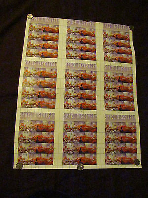 """3238-42V MINT STAMP SHEET 9 PANES """"SPACE DISCOVERY"""""""