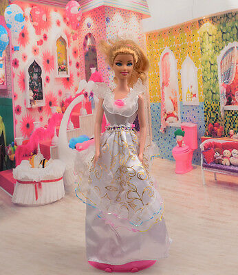 2014 new style Fashion Handmade princess  party Clothes dress For Noble Doll D03