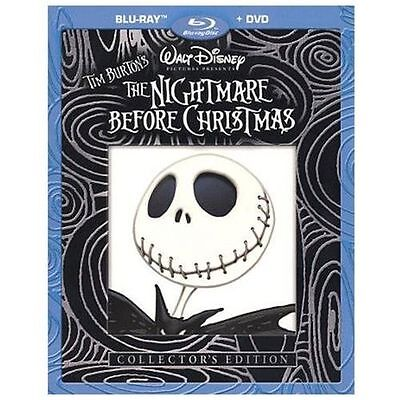 The Nightmare Before Christmas (Blu-ray/DVD, 2010, 2-Disc Set, Collector's...