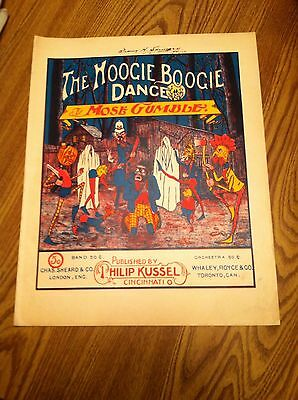 The Hoogie Boogie Dance By Mose Gumble 1900
