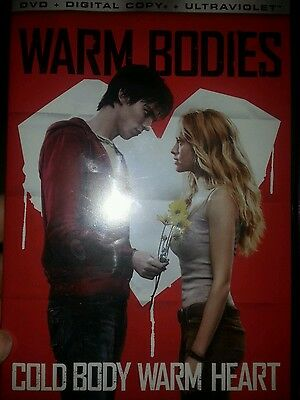 Warm Bodies (DVD, 2013, Includes Digital Copy; UltraViolet)