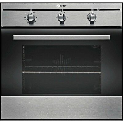 Indesit FIM31KAIX Built In Electric Single Fan Oven in Stainless Steel New