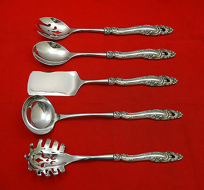 Decor by Gorham Sterling Silver Hostess Set 5pc HHWS  Custom Made