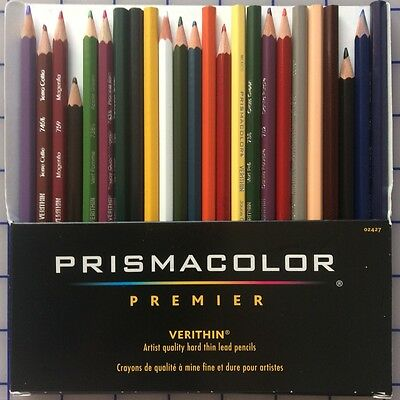 Prismacolor Premier 24 Verithin Coloring Pencils with Free shipping!
