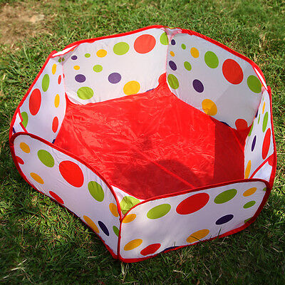 Kids Baby Children Portable Outdoor Indoor Ball Pit Pool Cat Dog Puppy Play Tent