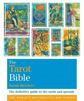 The Tarot Bible: Godsfield Bibles by Sarah Bartlett Paperback Book Free Shipping