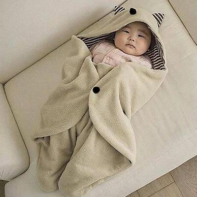Baby Kids Toddler Newborn Blanket Swaddle Sleeping Bag Sleepsack Stroller Wrap
