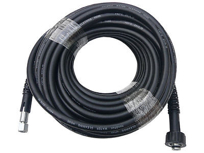 Replacement 4300psi Pressure Washer Hose - 20m with 15mm Pump End Fitting