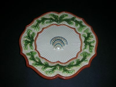 Fitz and Floyd Hand crafted Seashell plate
