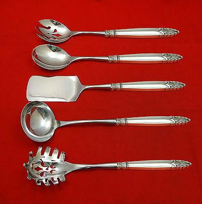 Empress by International Sterling Silver Hostess Set 5pc HHWS  Custom Made